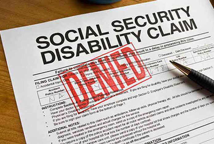 Over 80% of all first-time applicants are denied by the Social Security Administration.